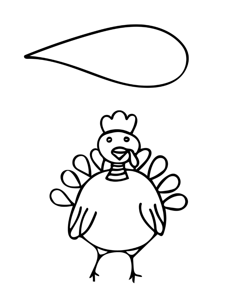 Turkey Headband Template for Kids - Paper Scissors Craft